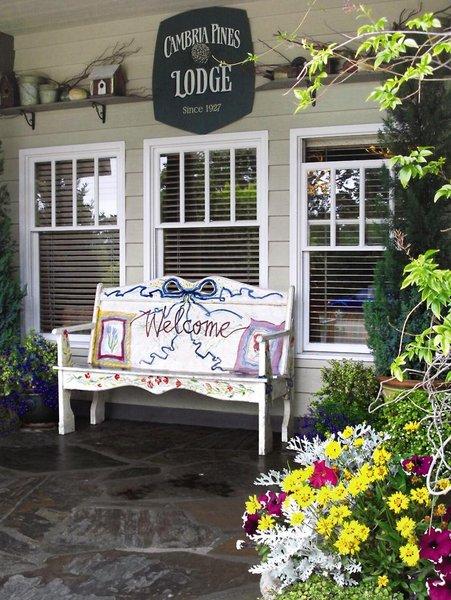 Cambria Pines Lodge Terrasse