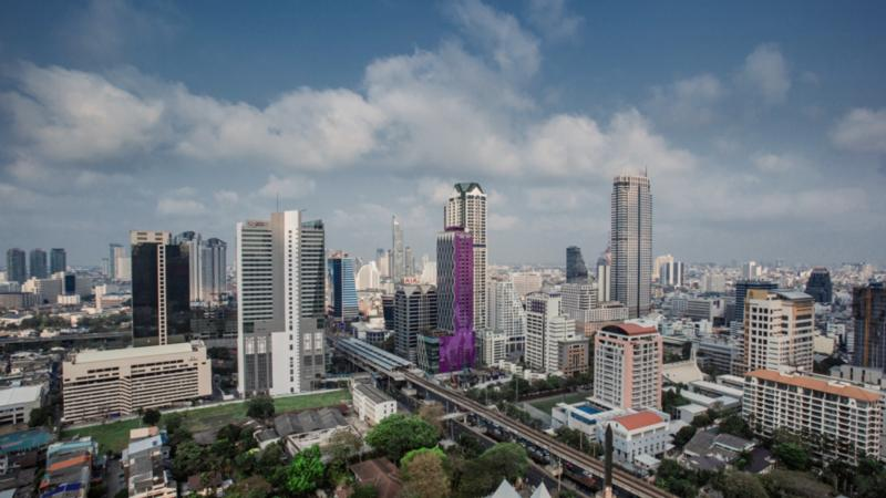 Mode Sathorn Landschaft