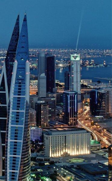 The Domain Hotel & Spa Bahrain Terrasse