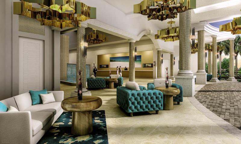 Sandals Royal Barbados Lounge/Empfang