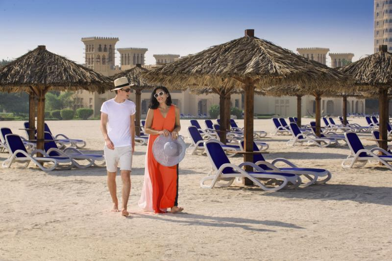 Hilton Al Hamra Beach & Golf Resort Strand
