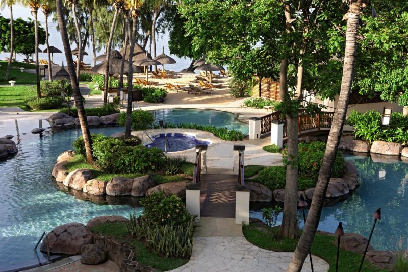 Hilton Mauritius Resort & Spa Garten