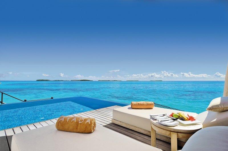 Ayada Maldives Terrasse
