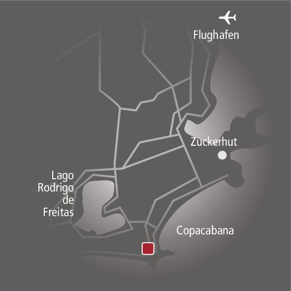 Fasano Rio de Janeiro Landkarte
