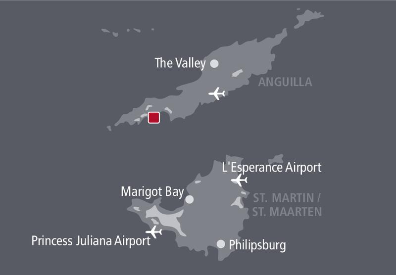 Cap Juluca Resort Landkarte