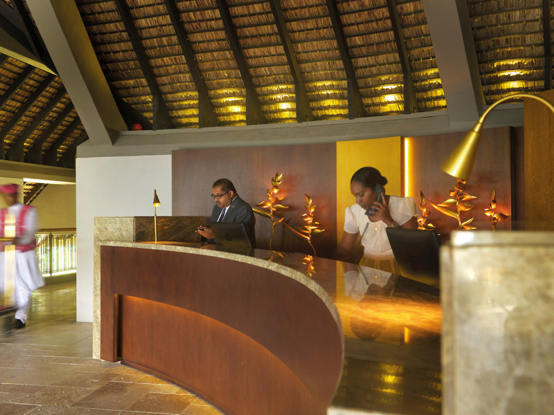 Royal Palm Beachcomber Luxury Lounge/Empfang