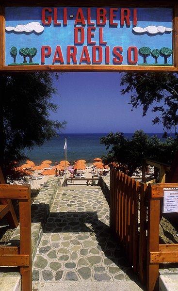 Alberi Del Paradiso Strand