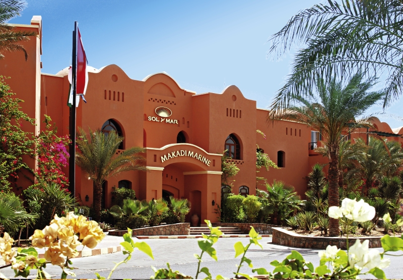 TUI SENSIMAR Makadi Hotel Außenaufnahme