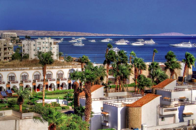 Marlin Inn Azur Resort Landschaft