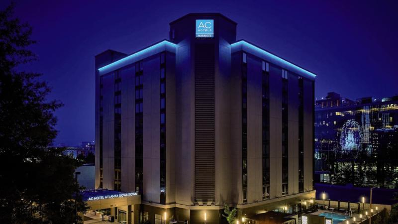 AC Hotel Atlanta Downtown  Außenaufnahme