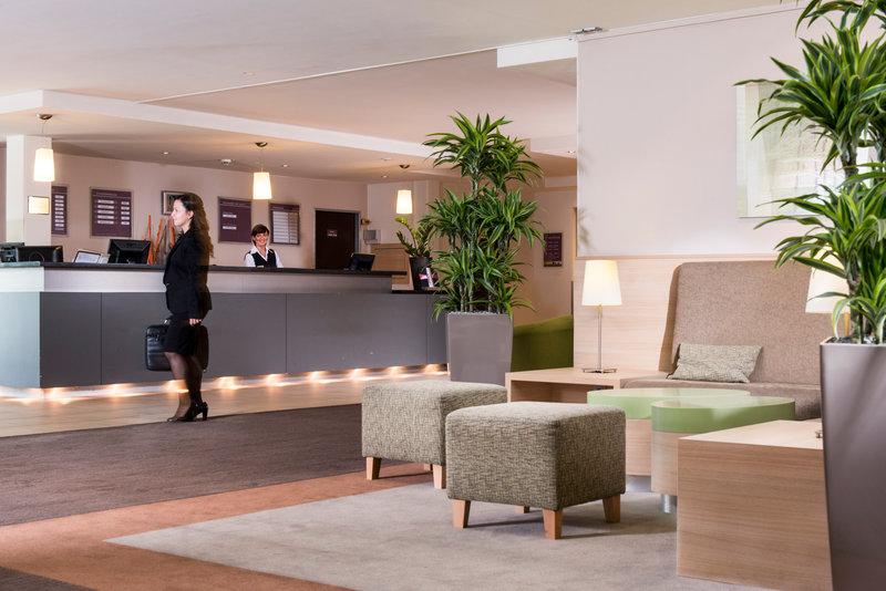 Mercure Düsseldorf Airport Lounge/Empfang