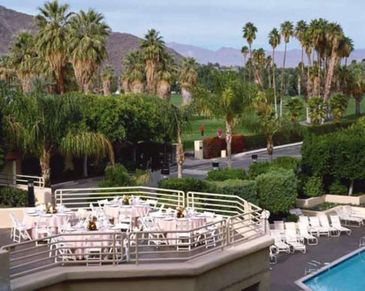 Hyatt Palm Springs Terrasse