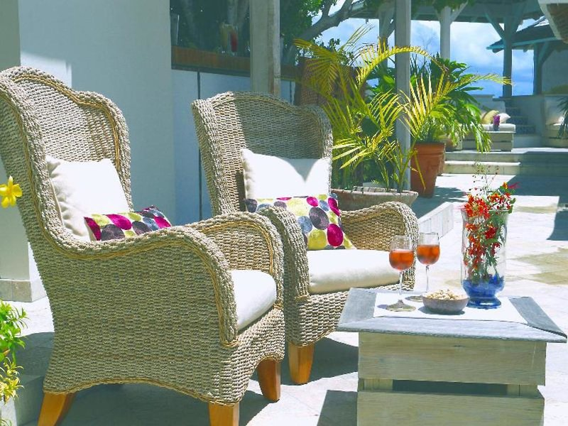 Nonsuch Bay Resort Terrasse