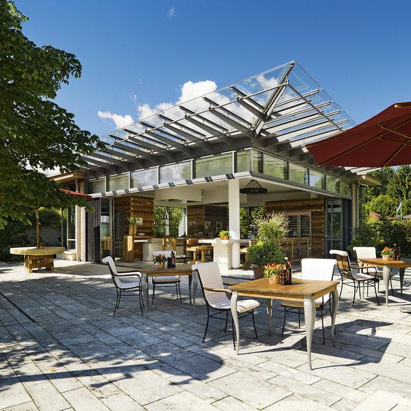 Althoff Seehotel Überfahrt Terrasse