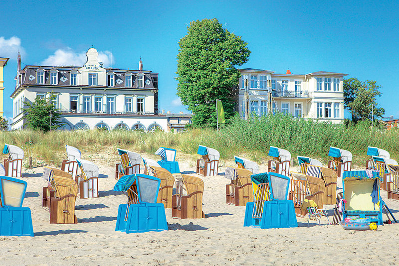 Seetelhotel Strandhotel Atlantic & Villa Meeresstrand Strand
