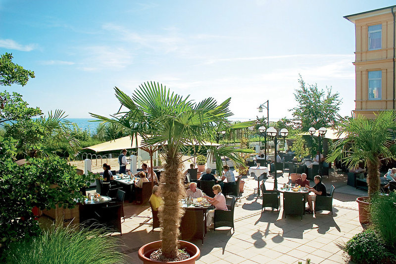 Seetelhotel Strandhotel Atlantic & Villa Meeresstrand Terrasse
