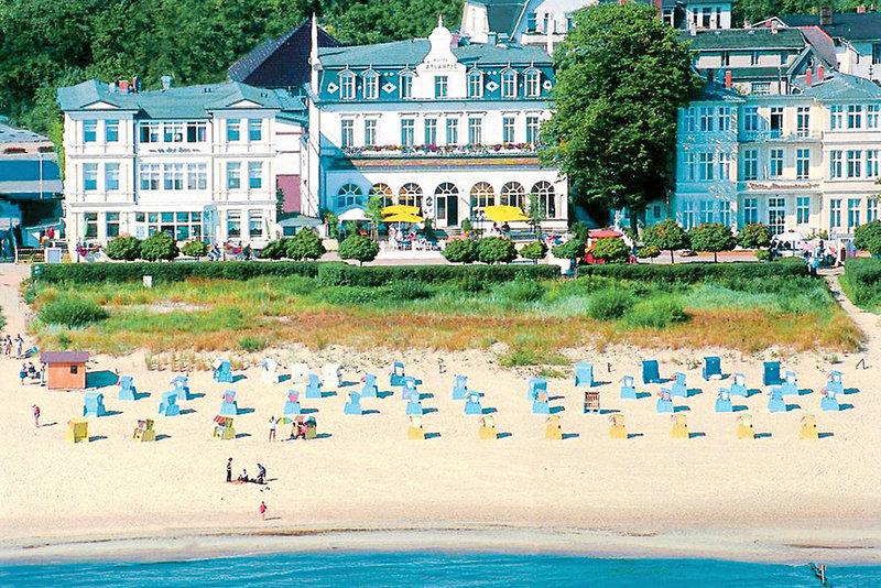 Seetelhotel Strandhotel Atlantic & Villa Meeresstrand Außenaufnahme