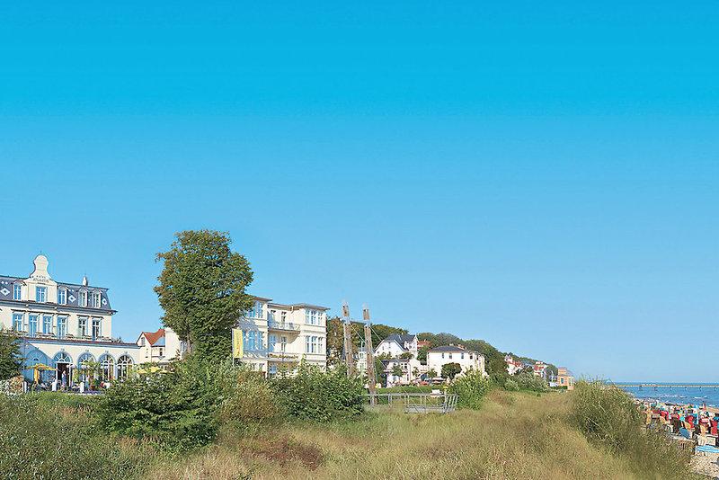 Seetelhotel Strandhotel Atlantic & Villa Meeresstrand Landschaft