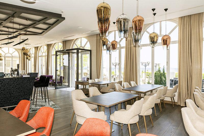 Seetelhotel Strandhotel Atlantic & Villa Meeresstrand Lounge/Empfang