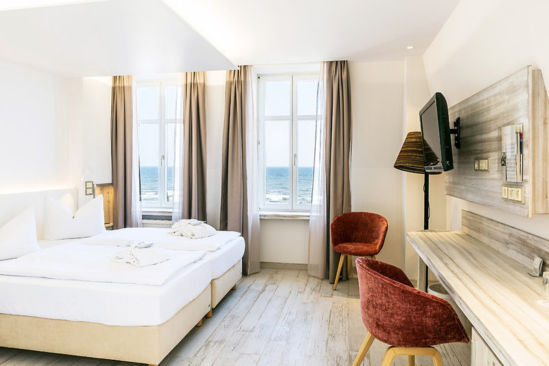 Seetelhotel Strandhotel Atlantic & Villa Meeresstrand Wohnbeispiel