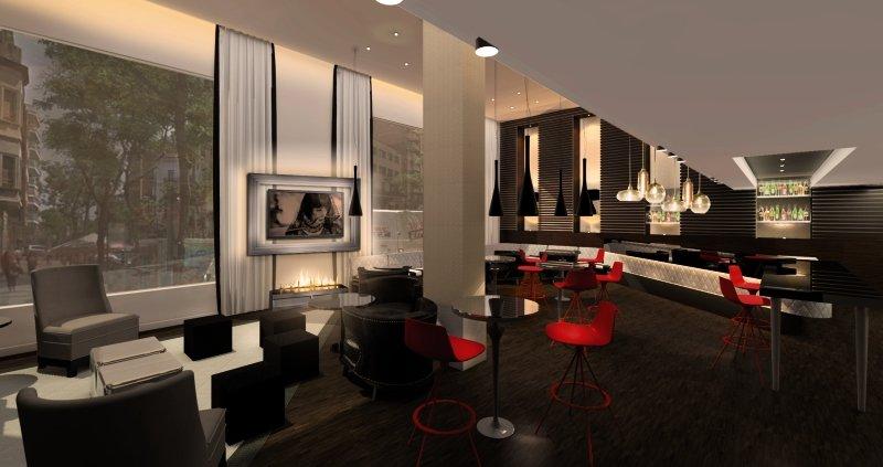 Pestana Arena Barcelona Lounge/Empfang