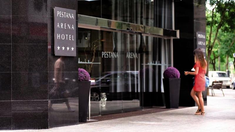 Pestana Arena Barcelona Außenaufnahme