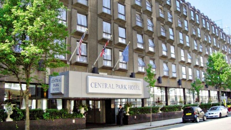 Central Park Hotel - Queensborough Terrace Außenaufnahme