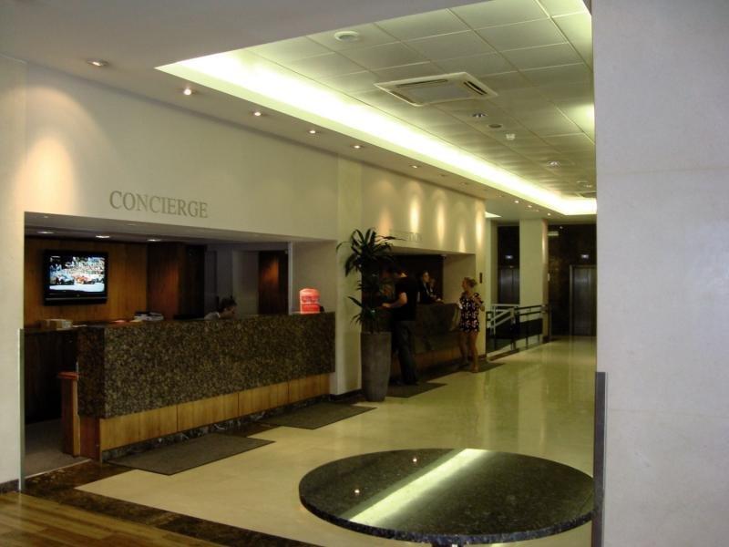 Central Park Hotel - Queensborough Terrace Lounge/Empfang
