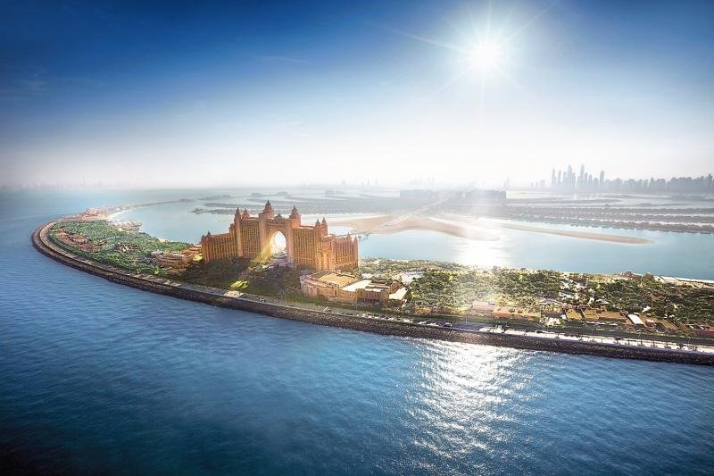 Atlantis - The Palm Außenaufnahme