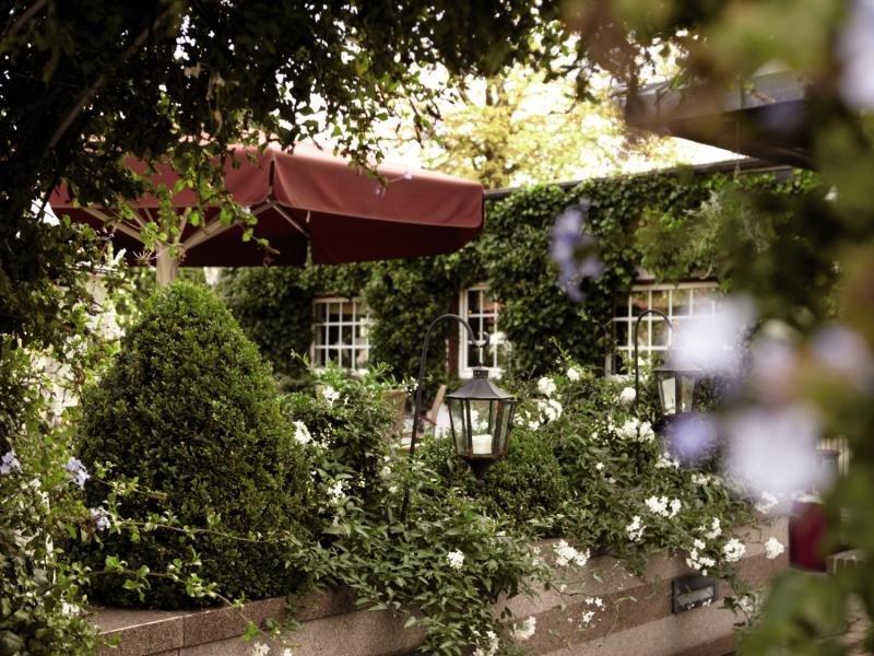 Romantik Hotel Fuchsbau Terrasse