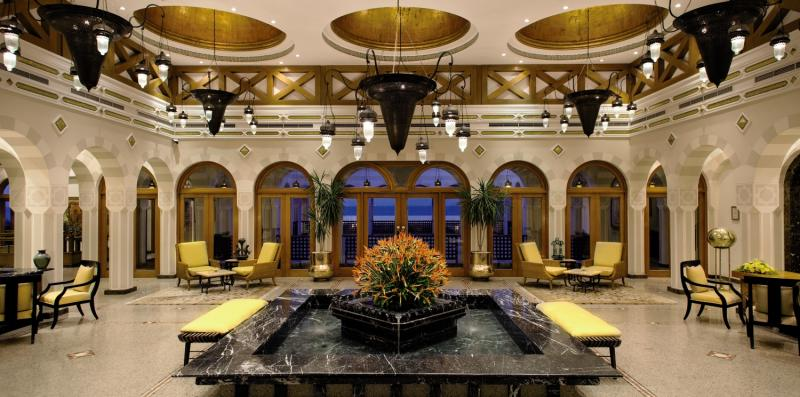The Oberoi Beach Resort Lounge/Empfang