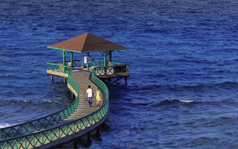The Oberoi Beach Resort Landschaft